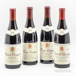 Alain Hudelot Noellat, 4 bottles