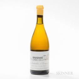 Domaine d'Auvenay (Leroy) Puligny Montrachet Les Enseigneres 2014, 1 bottle