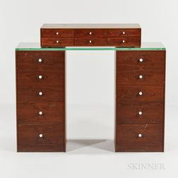 George Nelson for Herman Miller Jewelry Chest and Two Chests of Drawers