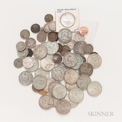 Group of American Type and Silver Coins