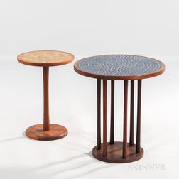 Two Jane and Gordon Martz for Marshall Studios Tile-top Occasional Tables