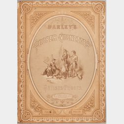Cooper, James Fenimore (1789-1851) Darley's Cooper Vignettes, Artists Proofs  , Four of Eight Volumes.