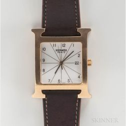 "Hermes ""H"" Reference HH1.801 Quartz Wristwatch"