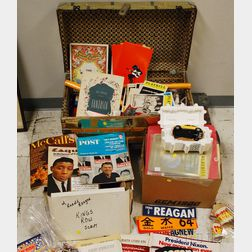 Elaine Shepard Related Political, Hollywood, and Other Miscellaneous Ephemera   and Collectibles