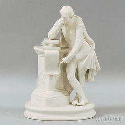 Parian Ware Shakespeare Figurine