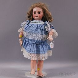 Large SFBJ 301 Bisque Head Doll