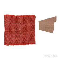 Two Kerman Shawl Fragments