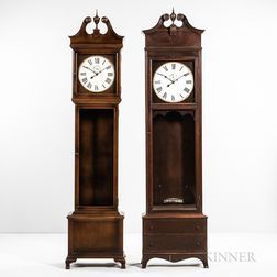 Two Bench-made Tall Clocks