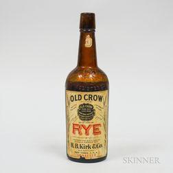 Old Crow Rye, 1 pint 8.5 oz bottle