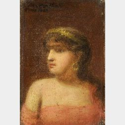 Jean Joseph Benjamin Constant (French, 1845-1902)  Une Fille de l'Orient