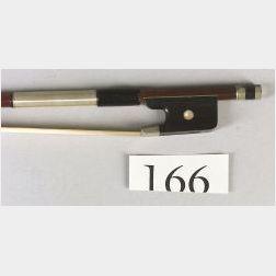 Nickel Mounted Violin Bow, School of Jean Joseph Martin