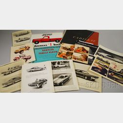 Group of Assorted Automobilia Items