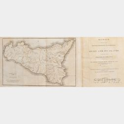 Smyth, Captain William Henry (1788-1865)   Memoir Descriptive of the Resources, Inhabitants, and Hydrography of Sicily and its Islands