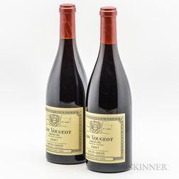 Louis Jadot Clos Vougeot 2007, 2 bottles