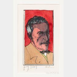 Leonard Baskin (American, 1922-2000)      Thomas Eakins