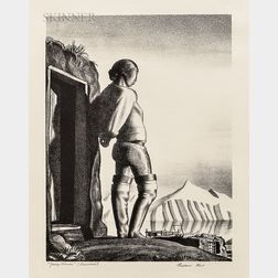 Rockwell Kent (American, 1882-1971)      Young Greenland Woman