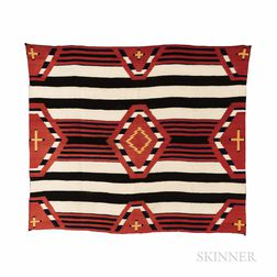 Late Classic Navajo Chief's Blanket