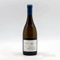 Arnaud Ente Puligny Montrachet Les Referts 2013, 1 bottle