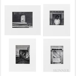 Max Belcher (American, b. 1944)      Four Silver Gelatin Prints from the Americo-Liberian   Series and a Book