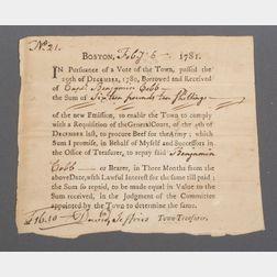 (Revolutionary War, Boston)