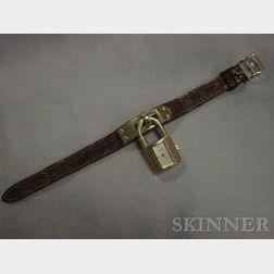 """18kt Gold """"Kelly"""" Wristwatch, Hermes"""