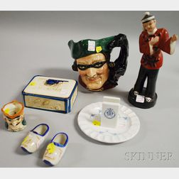 Seven Assorted Collectible and Decorative Ceramic Items