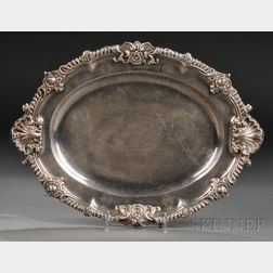 William IV Silver Meat Dish