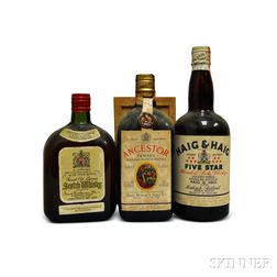 Mixed Scotch, 1 26.5oz bottle2 4/5 quart bottles