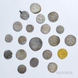 Twenty Islamic Coins