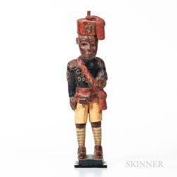 Ashanti Colonial Polychrome Figure
