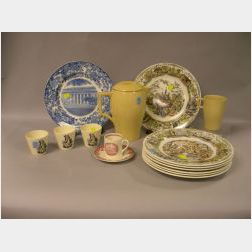 Fifteen Wedgwood Items