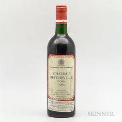 Chateau Beychevelle 1964, 1 bottle