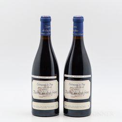 Pierre Usseglio Chateauneuf du Pape Reserve des Deux Freres 2003, 2 bottles