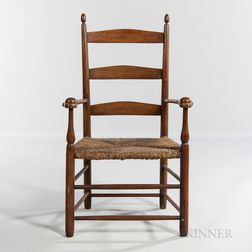 """Shaker """"No. 1"""" Production Armchair"""