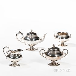 Gorham Four-piece Sterling Silver Tea Set