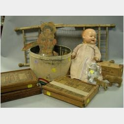 Group of Assorted Toys, Dolls and Accessories