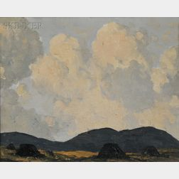 Paul Henry (Irish, 1876-1958)      A Bog Near Dingle, Co., Kerry
