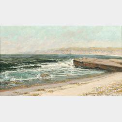 Martin B. Leisser (American, 1846-1940)      Seashore View, La Jolla