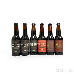 Goose Island Beer Company Bourbon County Ales, 6 12oz bottles
