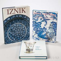 Three Books on Islamic Ceramics and Glass