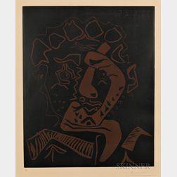 Pablo Picasso (Spanish, 1881-1973)      Tête d'histrion (Le danseur)