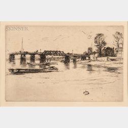 James Abbott McNeill Whistler (American, 1834-1903)      Chelsea