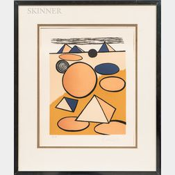 Alexander Calder (American, 1898-1976)      Pyramids