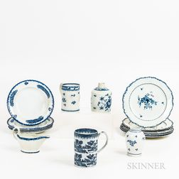 Group of English Pearlware Tableware