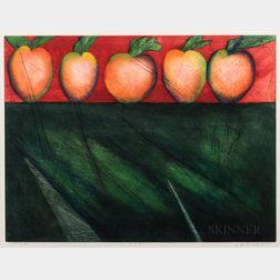 Norman Laliberté (American, b. 1925)      Apples
