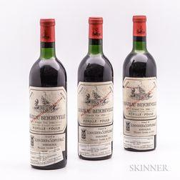 Chateau Beychevelle 1962, 3 bottles