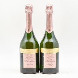 Deutz Cuvee William Deutz Rose 1996, 2 bottles
