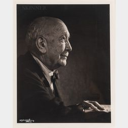 Yousuf Karsh (Armenian/Canadian, 1908-2002)      Richard Strauss