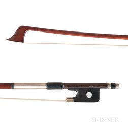 French Nickel-mounted Violoncello Bow