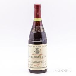 Louis Trapet Pere & Fils Chambertin Cuvee Issue de Vieilles Vignes 1983, 1 bottle